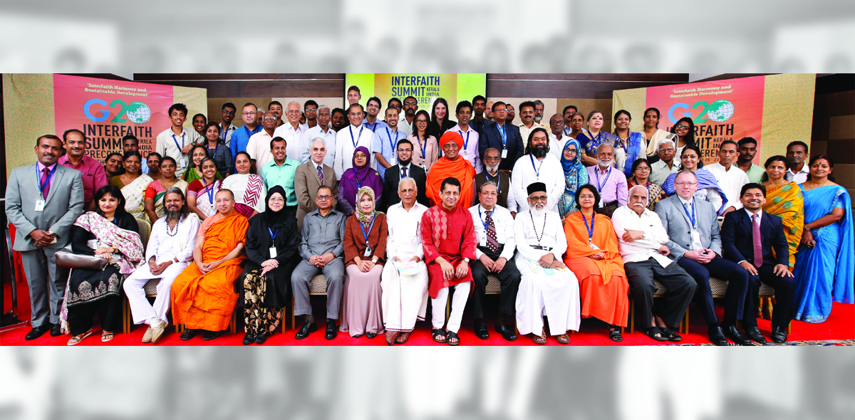 South Asia Region Preconference of the G20 Interfaith Summit: Interfaith Harmony and Sustainable Development