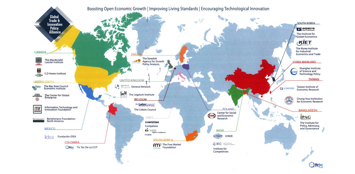 Member of Global Trade and Innovation Policy Alliance (GTIPA)