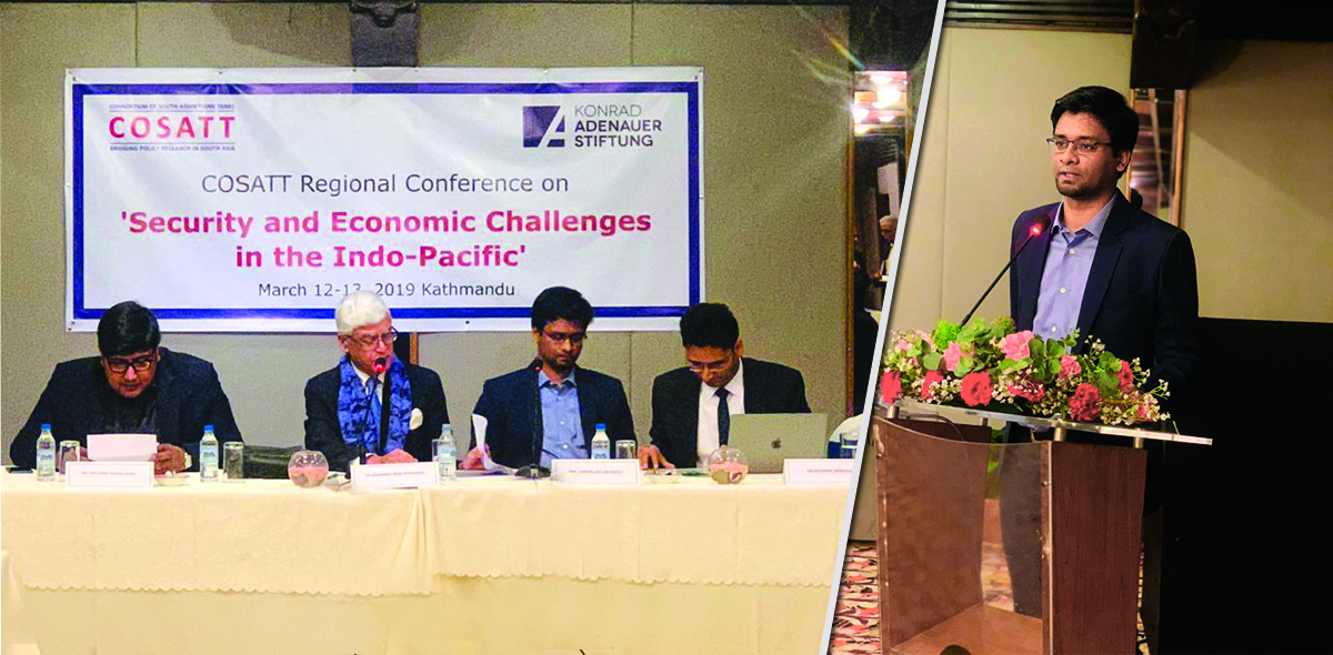 Security and Economic Challenges in the Indo-Pacific organized by the Centre for South Asian Studies