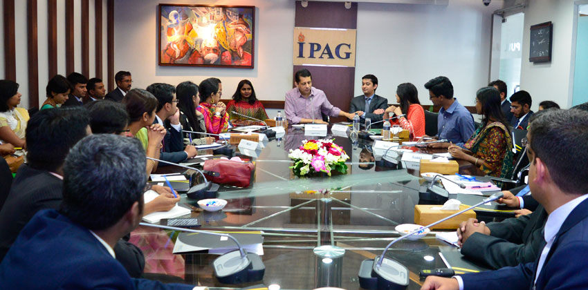 Visit of IFS Delegation to IPAG