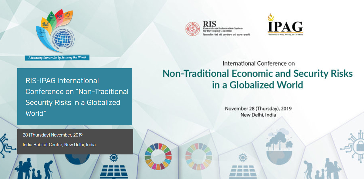 """RIS-IPAG International Conference on """"Non-Traditional Security Risks in a Globalized World"""