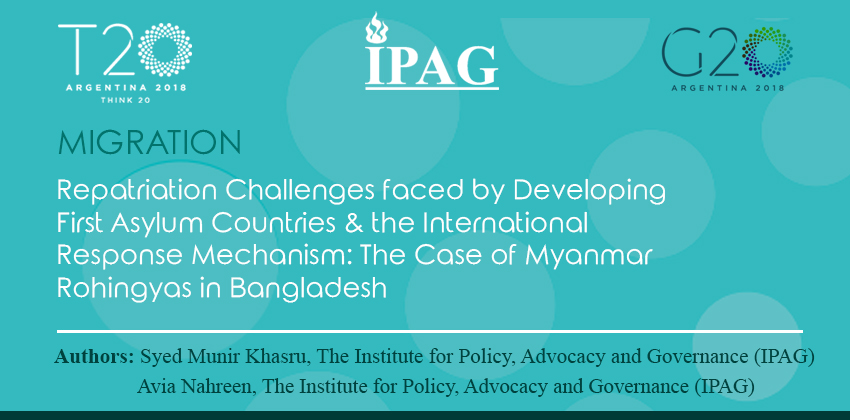 IPAG G20 Policy Brief 2018 published