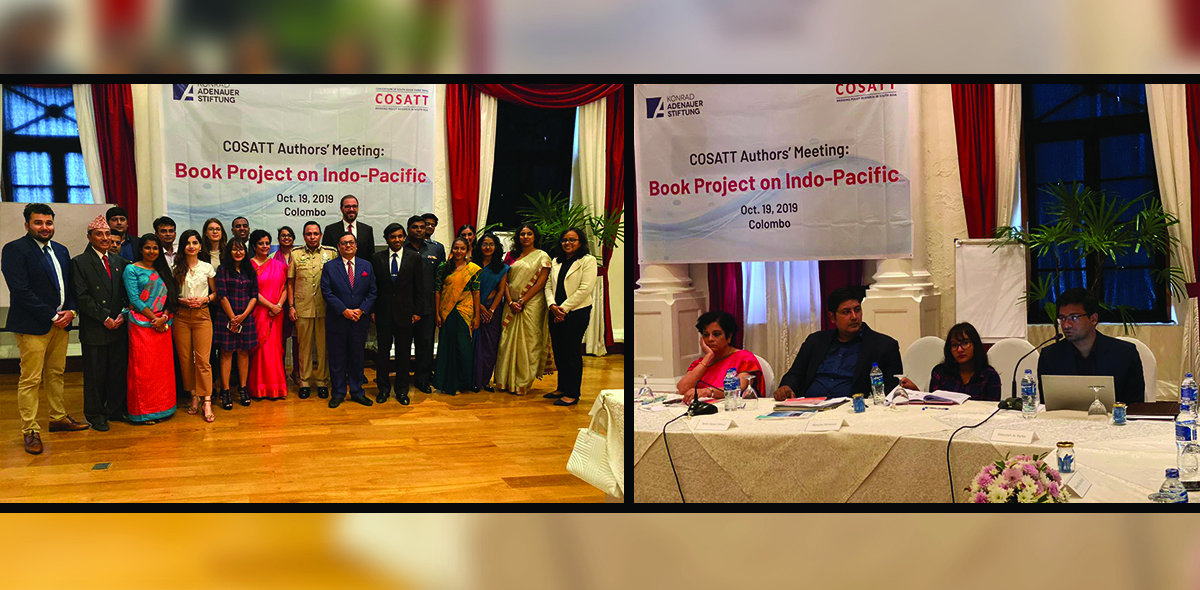 COSATT Authors's Meeting: Book Project on Indo-Pacific