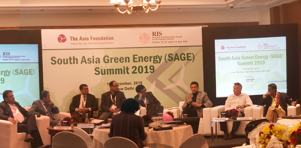 South Asia Green Energy Summit (SAGE) 2019